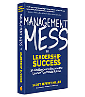 Image of Management Mess to Leadership Success