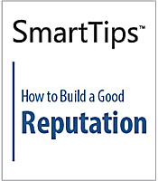 Image of SmartTips: How To Build A Good Reputation
