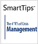 "Image of SmartTips: The 4 ""R""s of Crisis Management"