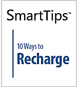 Image of SmartTips: 10 Ways to Recharge