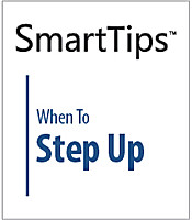 Image of SmartTips: When To Step Up