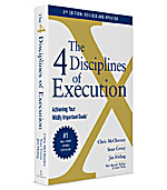 Image of The 4 Disciplines of Execution
