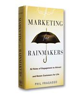 Image of Speed Review: Marketing for Rainmakers