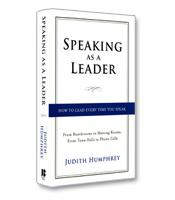Image of Speaking as a Leader