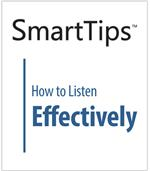 Image of SmartTips: How To Listen Effectively