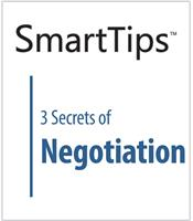 Image of SmartTips: 3 Secrets of Negotiation